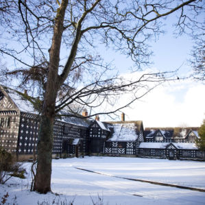 Winter at Samlesbury Hall