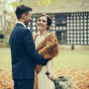 A RUSTIC VINTAGE STYLE AUTUMN WEDDING AT SAMLESBURY HALL