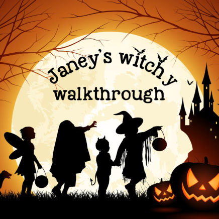 Janey's Witchy Walkthrough