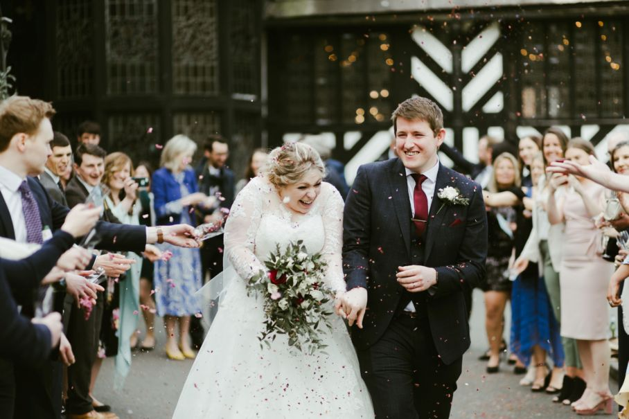 Rosie & Richard's Real Life Wedding at Samlesbury Hall
